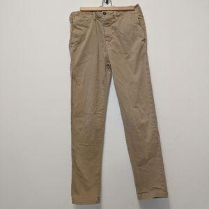 Mens American Eagle Extreme Flex Khaki Jeans 32 36